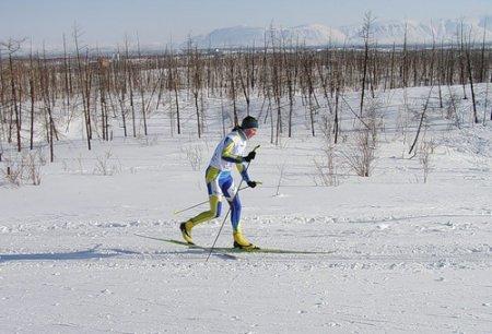 Первенство края по лыжным гонкам