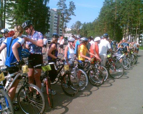 Велопробег памяти Куканова