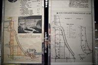 Строение плотины. Музей при СШГЭС