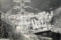 Архивные фотографии строительства Саяно-Шушенской ГЭС