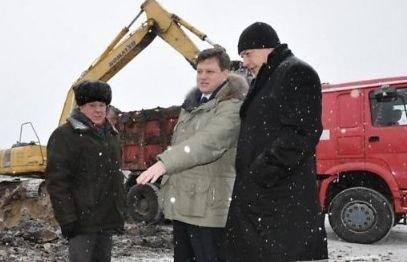 Об этом сегодня, 12 февраля, в ходе поездки Главы ЗАТО на объект доложил ге